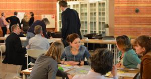 Tijdens onze denktanksessies komen strategen bijeen om zich gezamelijk te verdiepen in strategische vragen