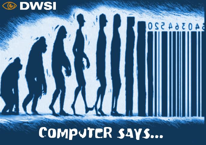 Computer says…